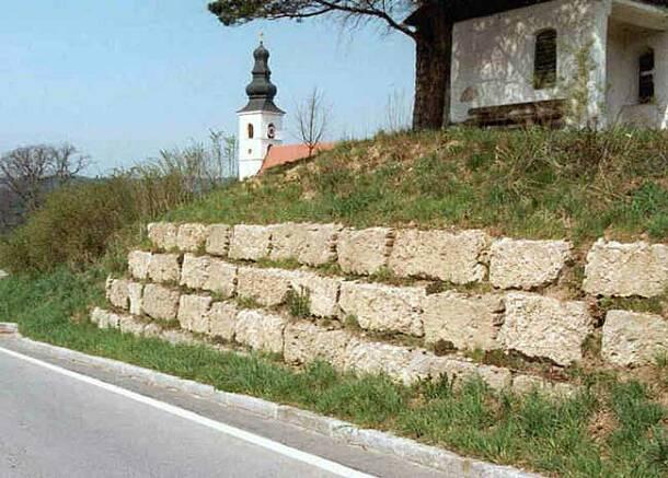 Mauersteine Riesenkopf, Nagelfluh