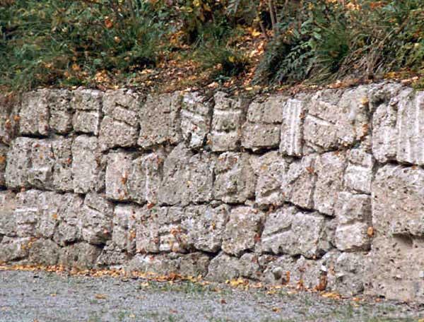 Mauersteine Breitenberg