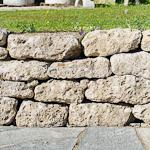Mauersteine Petersberg F, Nagelfluh