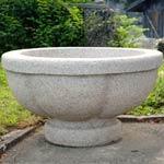 Pflanztröge Calice, Granit