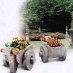Pflanztröge Laurenzana, Granit