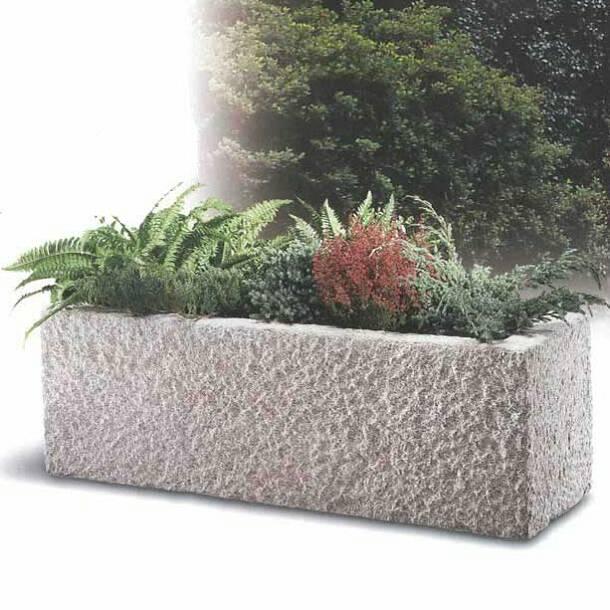 Pflanztröge Garda S, Granit