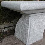 Steinbänke Ancona, Granit