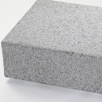 Blockstufen Granit grau