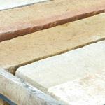 Blockstufen Sandstein gelbbeige