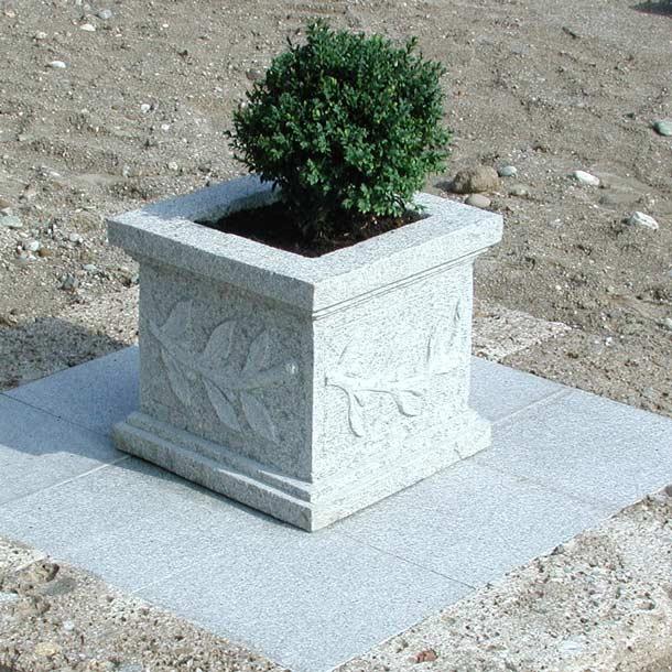 Pflanztröge Roma IV,Granit
