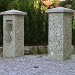 Pfeiler, Säulen Nagelfluh