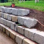 Mauersteine Bay Granit R