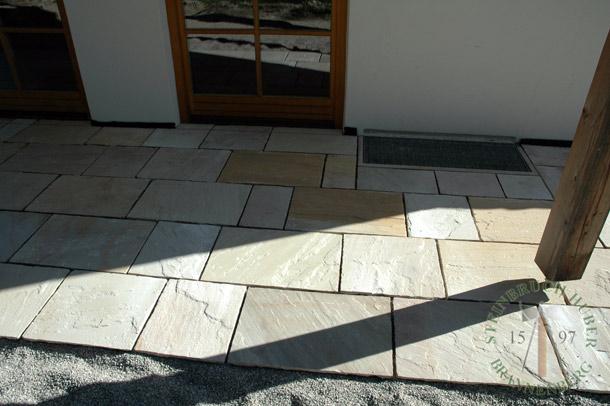 Sandstein-Boden Roma Antiqua
