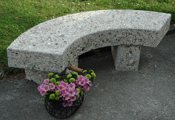 Steinbänke Chiemsee, Nagelfluh