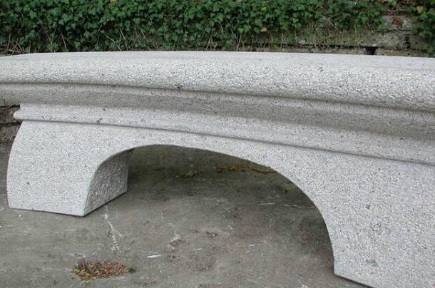 Steinbänke Siena, Granit