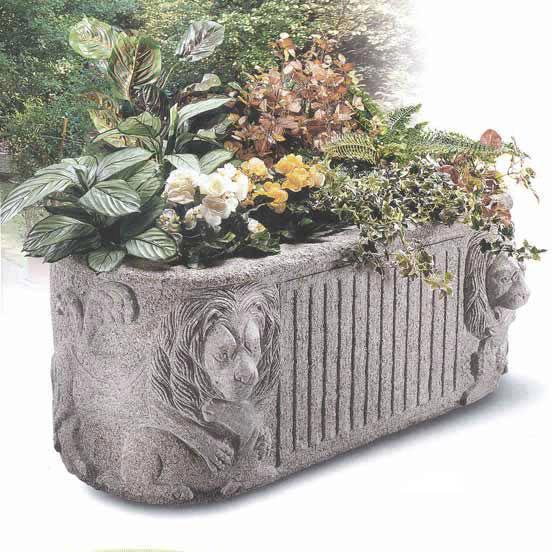 Pflanztröge Leone, Granit