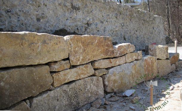 Mauersteine Portofino N, Granit
