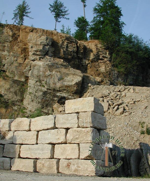 Mauersteine Bay Jura R, Kalkstein