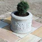 Pflanztröge Roma III, Granit