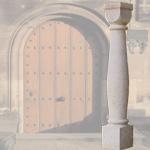 Pfeiler, Säulen Granit